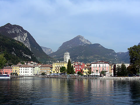 Riva del Garda: View from the lake